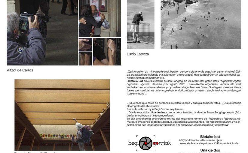 Exposición Una de dos del colectivo Begi Gorriak
