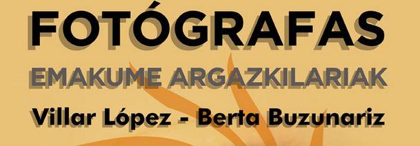 'Fotógrafas/ Emakume Argazkilariak', charla este jueves 15 de noviembre en Sarriguren