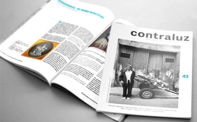 Presentación Virtual del número 43 de la Revista de  Fotografía `Contraluz´de la AFCN el 5 de Febrero